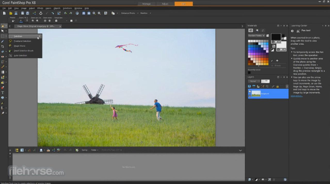 Corel PaintShop Pro Screenshot 1