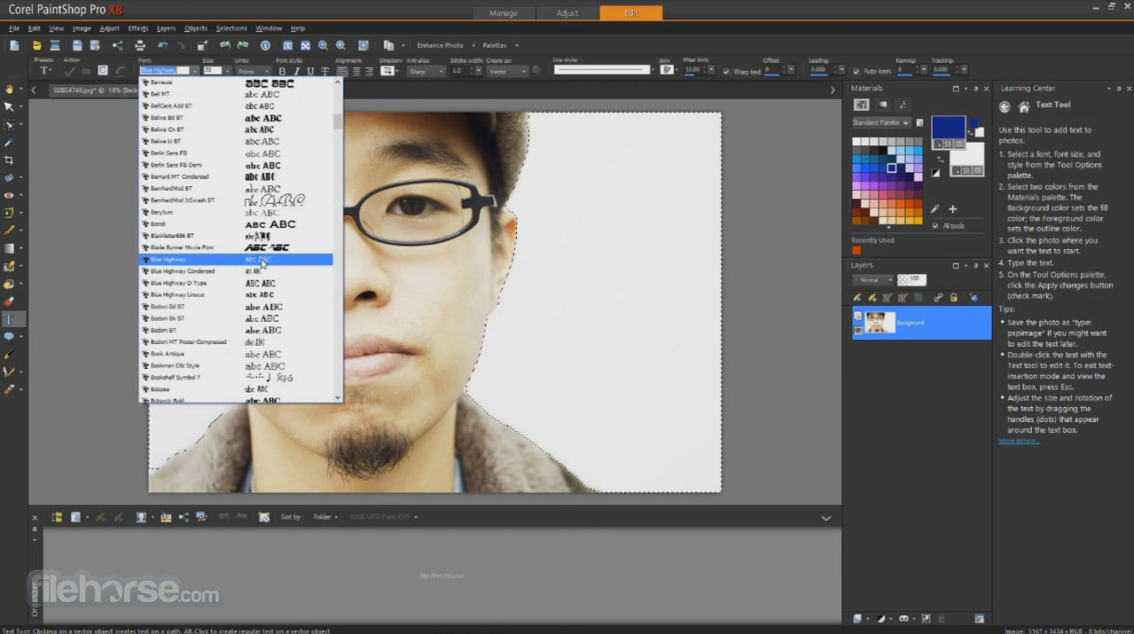 Corel PaintShop Pro Screenshot 2