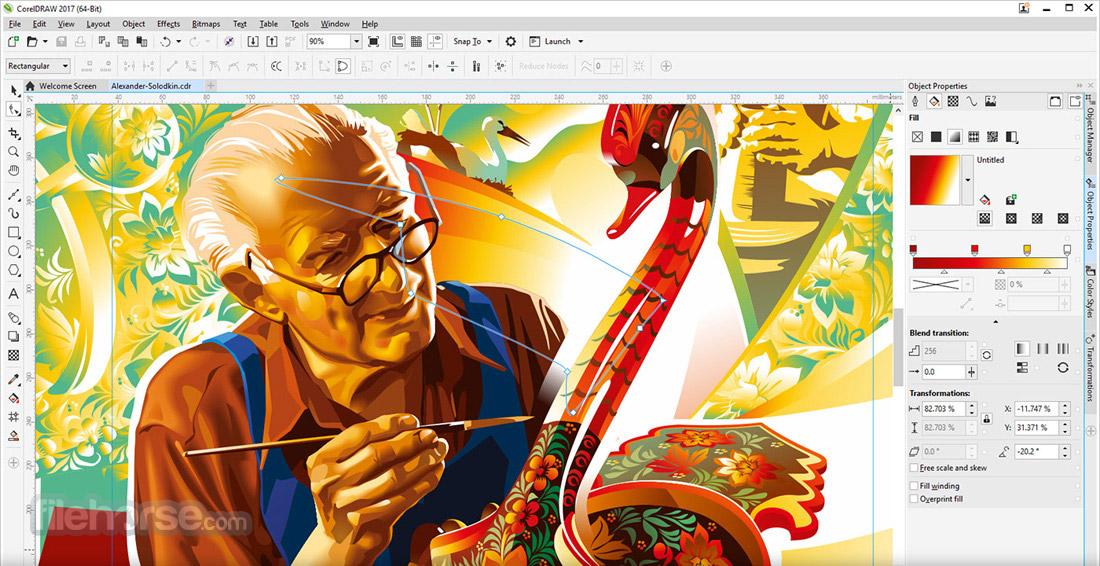 CorelDRAW Graphics Suite Screenshot 1