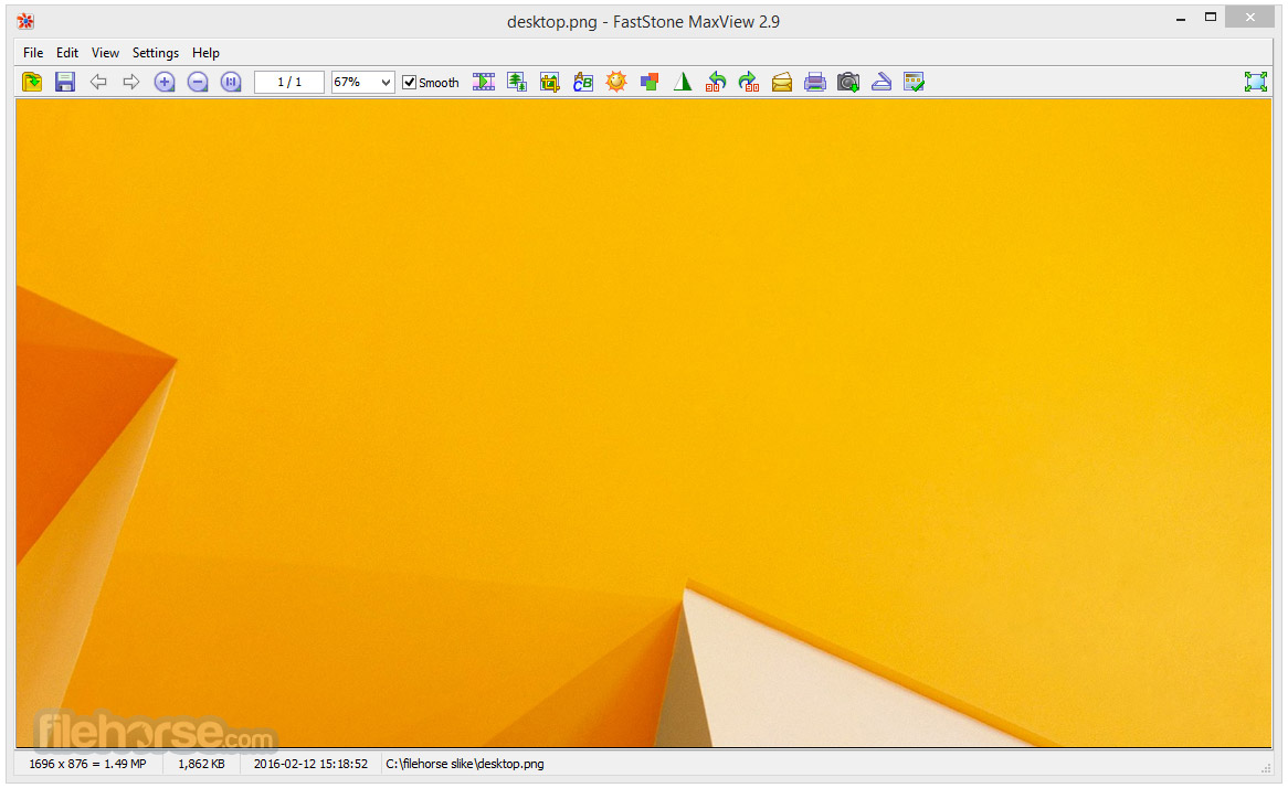 FastStone MaxView Screenshot 1