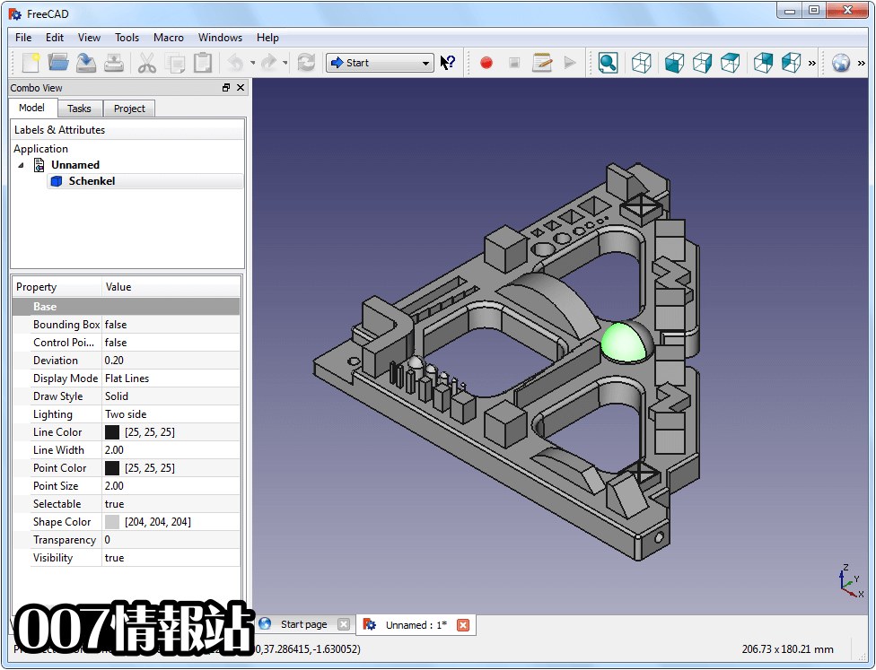 FreeCAD (64-bit) Screenshot 2
