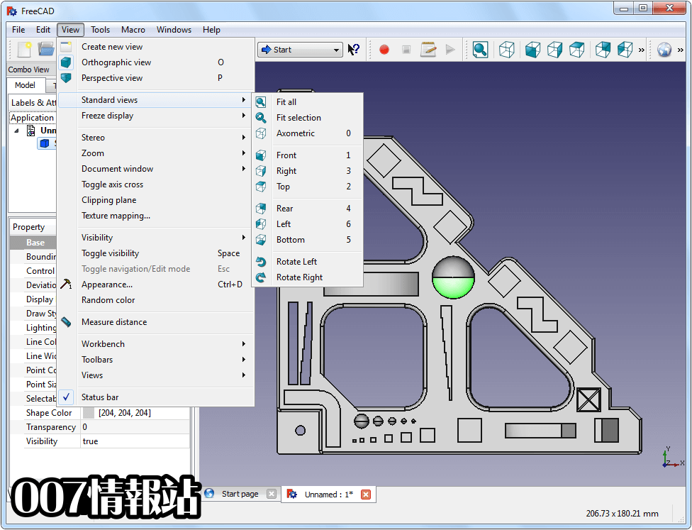 FreeCAD (64-bit) Screenshot 3