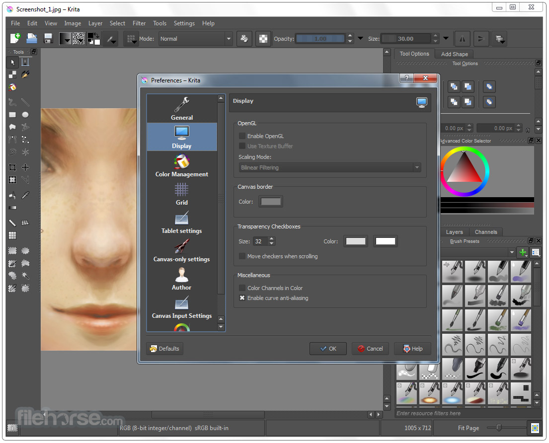 Krita (32-bit) Screenshot 5