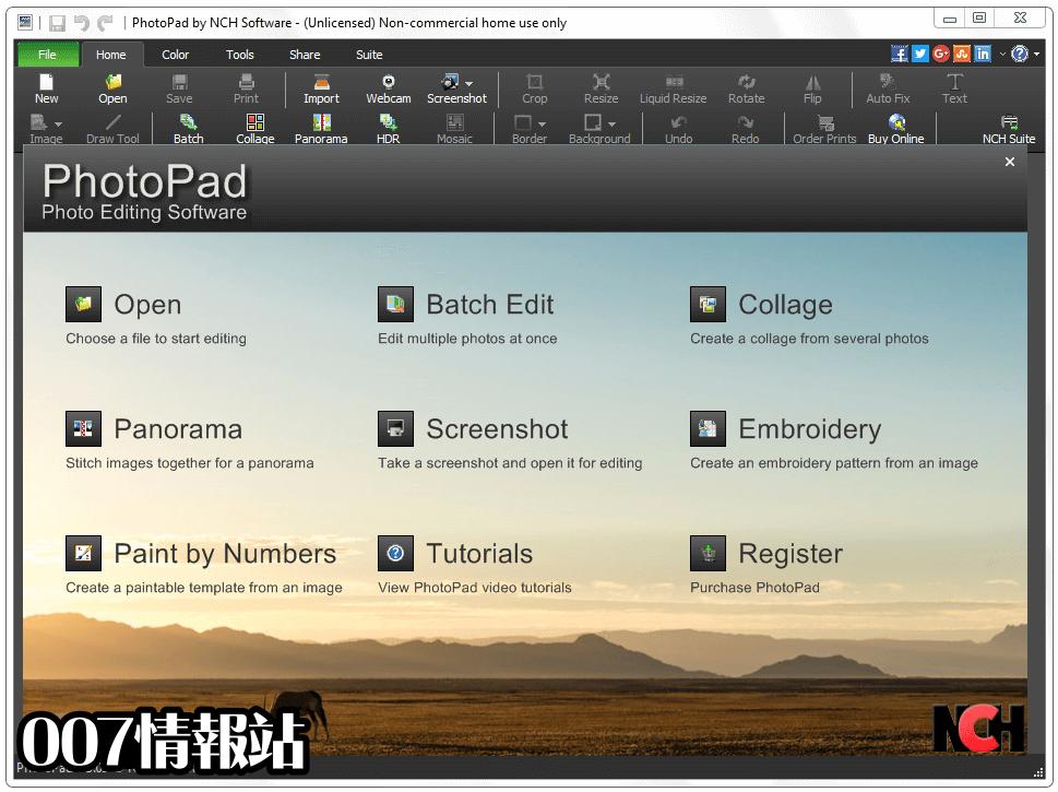 PhotoPad Image Editor Screenshot 1