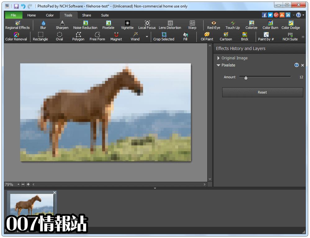 PhotoPad Image Editor Screenshot 2