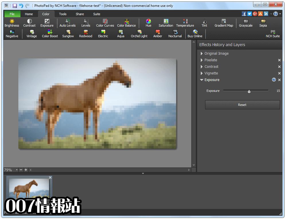PhotoPad Image Editor Screenshot 3