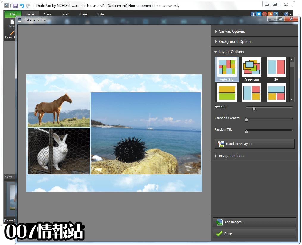 PhotoPad Image Editor Screenshot 4