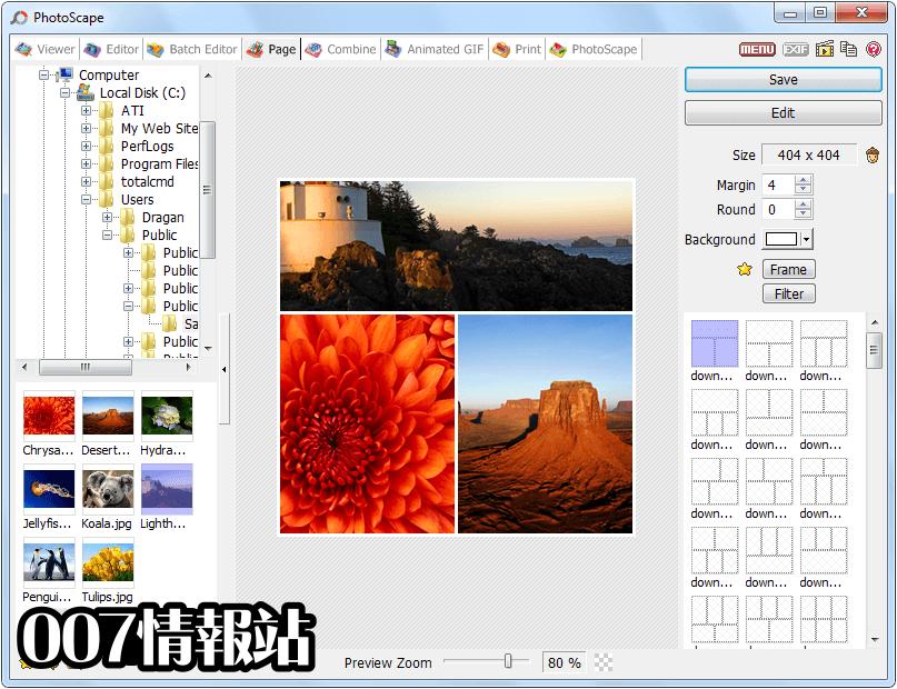 PhotoScape Screenshot 5