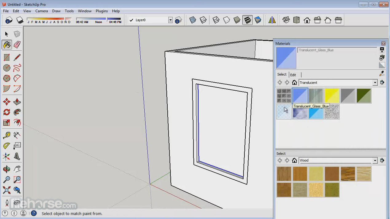 SketchUp Make (32-bit) Screenshot 2
