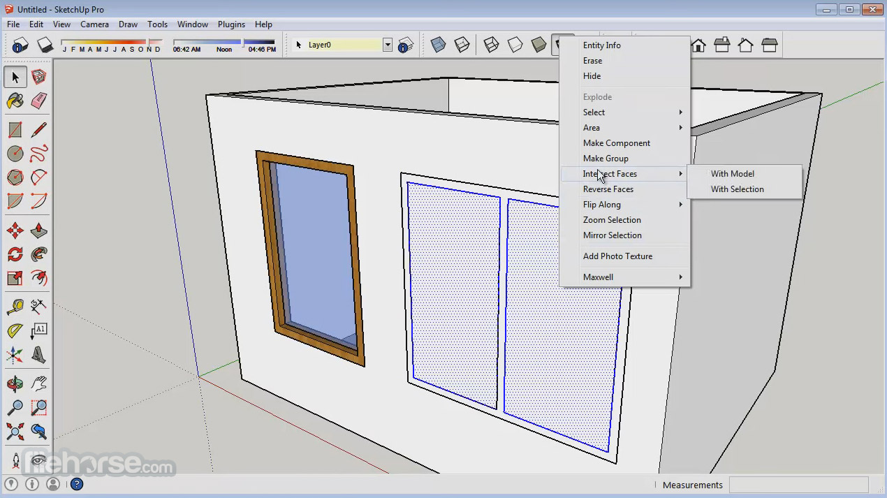 SketchUp Make (32-bit) Screenshot 3
