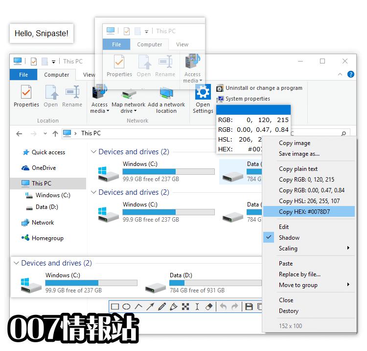 Snipaste (64-bit) Screenshot 3