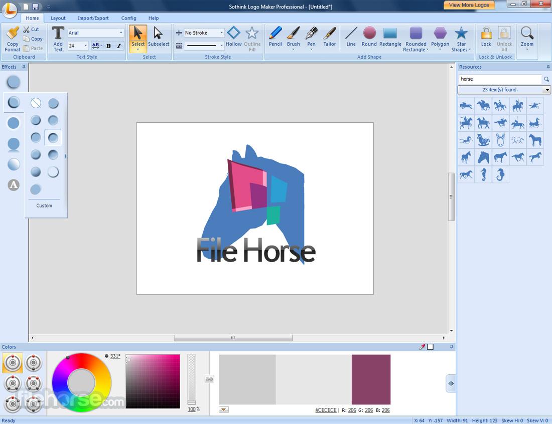 Sothink Logo Maker Professional Screenshot 2
