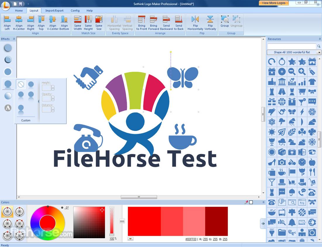 Sothink Logo Maker Professional Screenshot 4