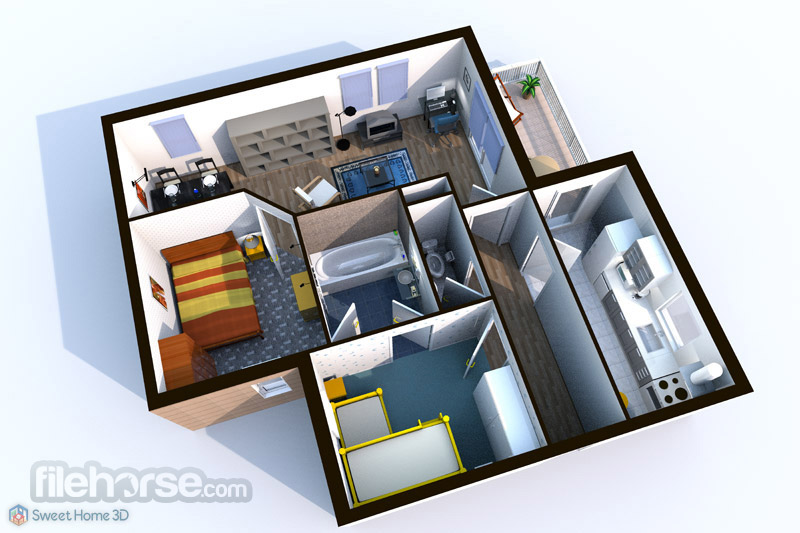 Sweet Home 3D Screenshot 2
