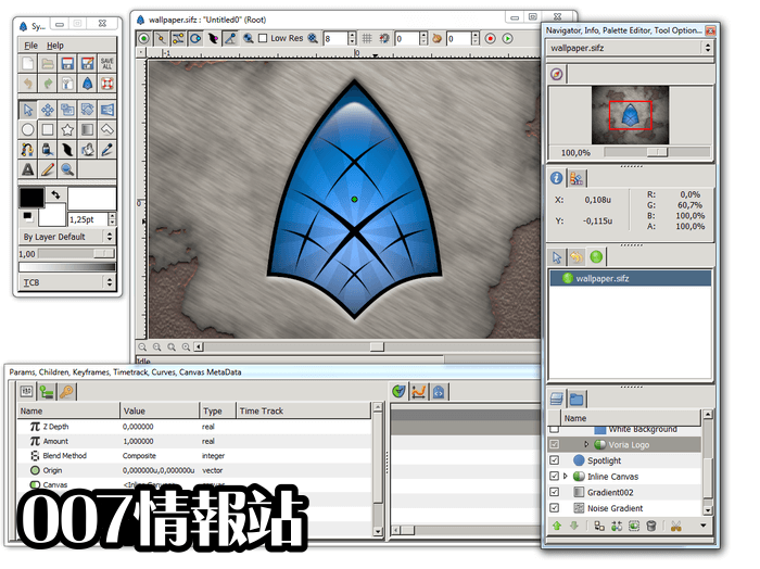 Synfig Studio (64-bit) Screenshot 1