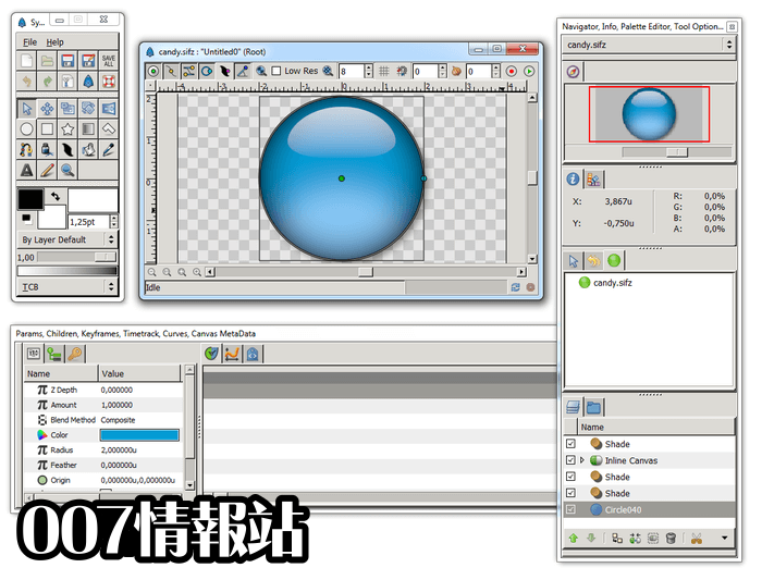 Synfig Studio (64-bit) Screenshot 2