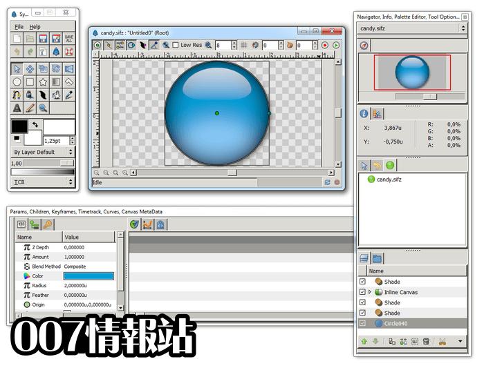 Synfig Studio (32-bit) Screenshot 2