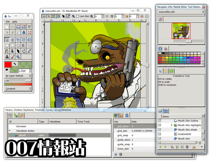 Synfig Studio (64-bit) Screenshot 3