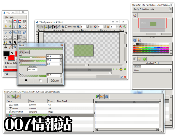 Synfig Studio (64-bit) Screenshot 4