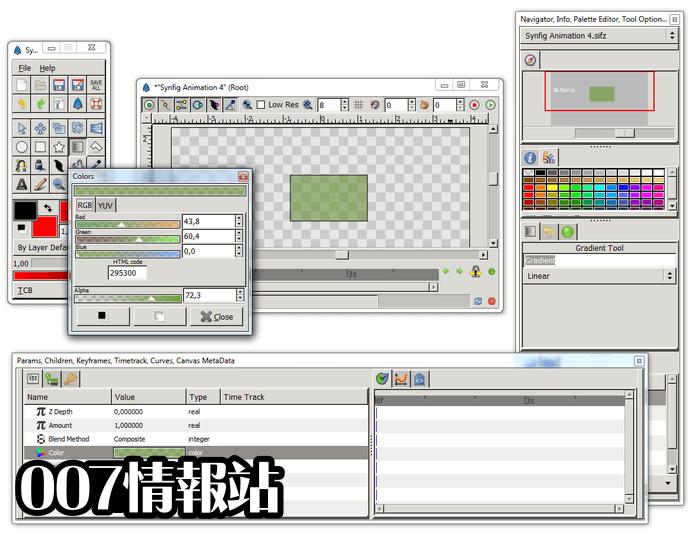 Synfig Studio (32-bit) Screenshot 4