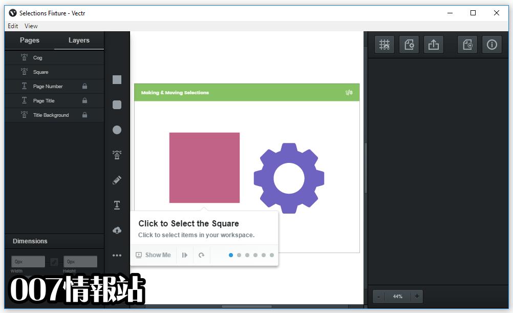 Vectr (32-bit) Screenshot 4