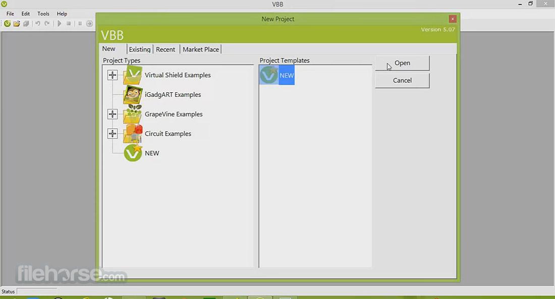 VirtualBreadboard Screenshot 2