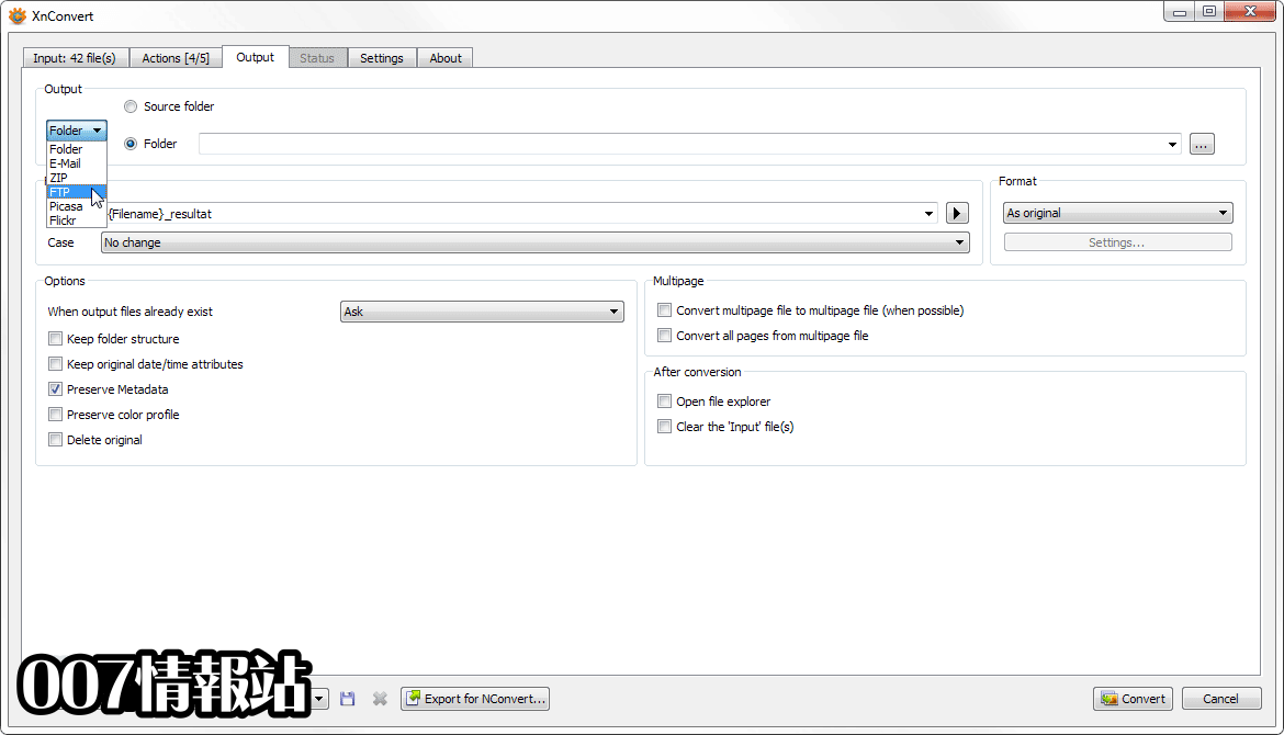 XnConvert (64-bit) Screenshot 3