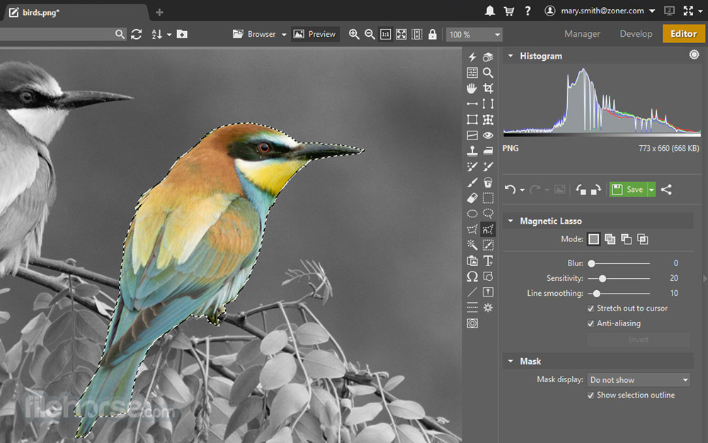 Zoner Photo Studio Free Screenshot 5