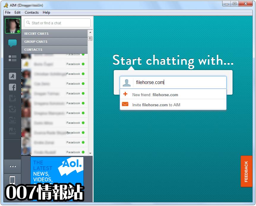 AIM Screenshot 2