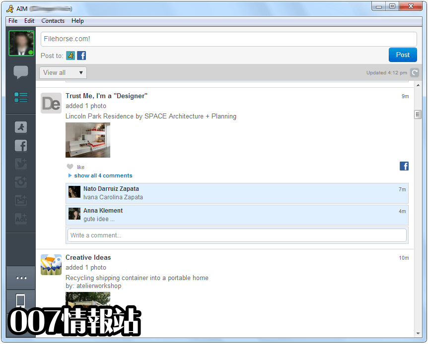 AIM Screenshot 3