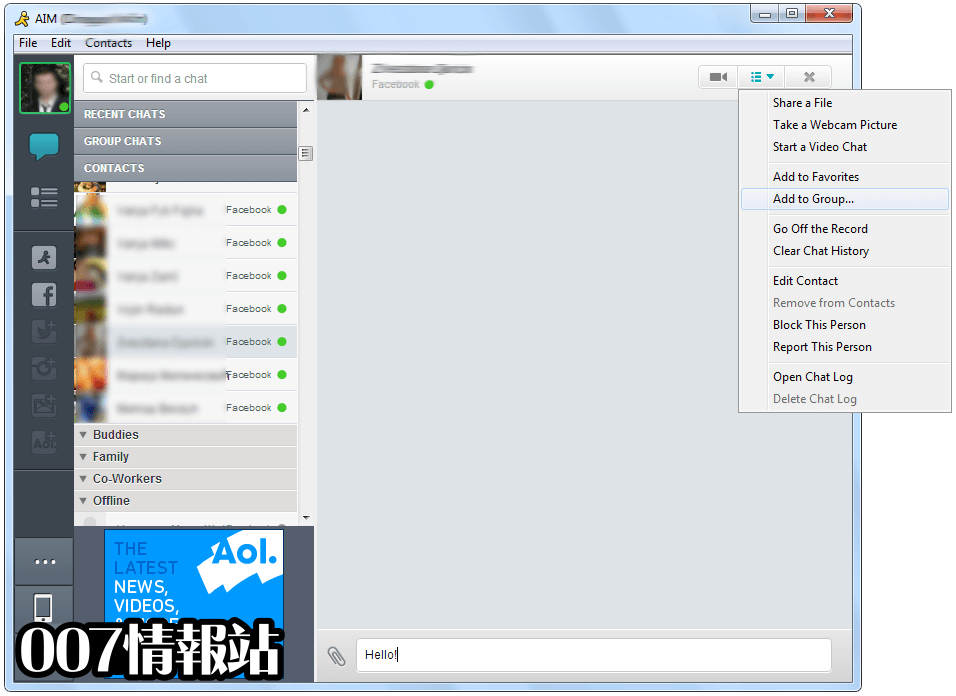 AIM Screenshot 4