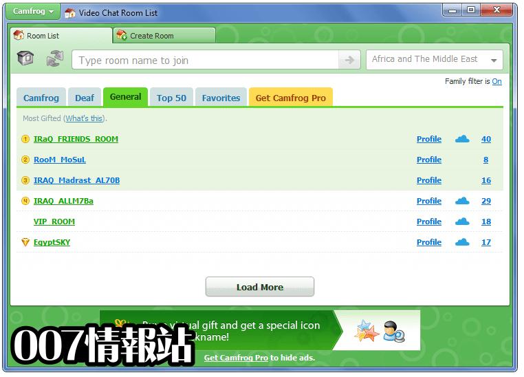 Camfrog Video Chat Screenshot 4