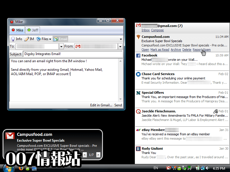 Digsby Screenshot 3