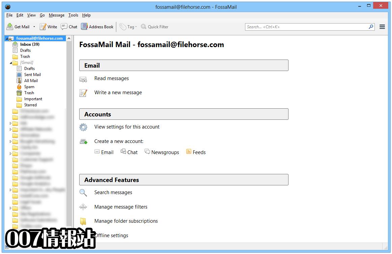 FossaMail (64-bit) Screenshot 1