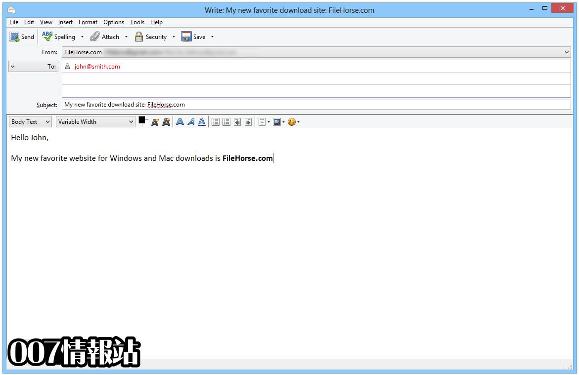 FossaMail (64-bit) Screenshot 3