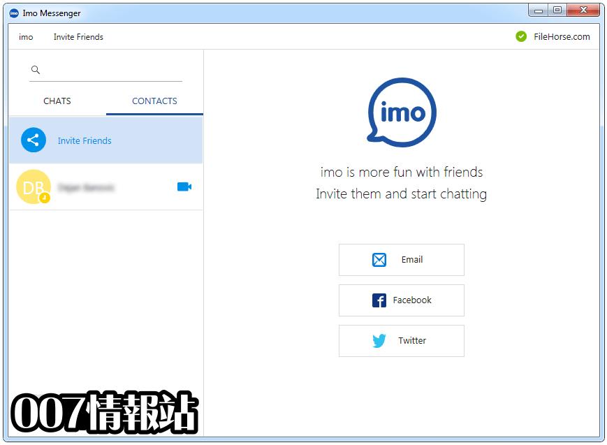 Imo Messenger for Windows Screenshot 2
