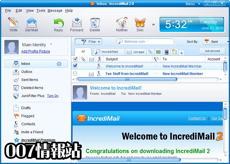 IncrediMail Screenshot 1