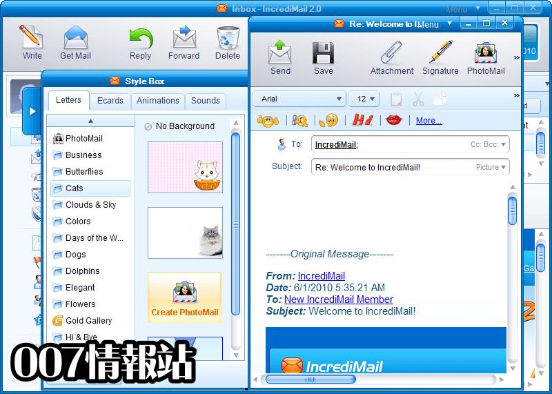 IncrediMail Screenshot 2