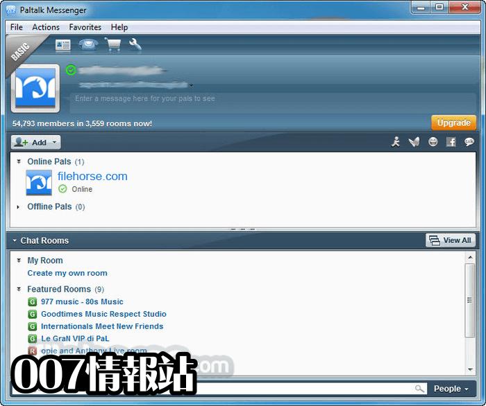 Paltalk Screenshot 1