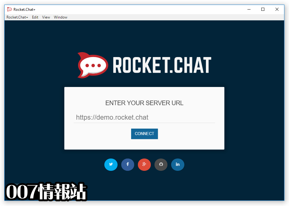 Rocket.Chat Screenshot 1