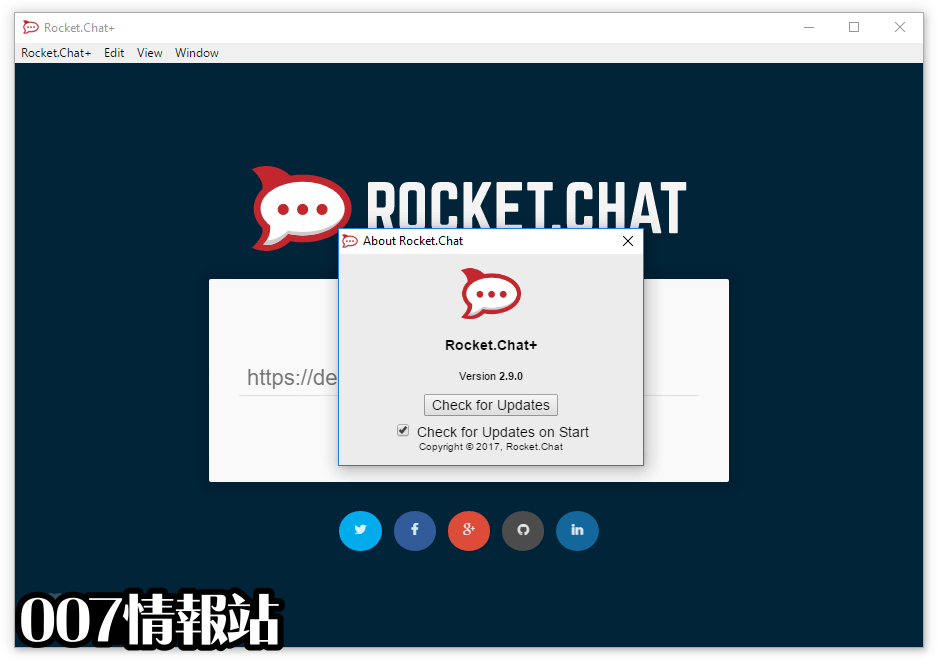 Rocket.Chat Screenshot 2