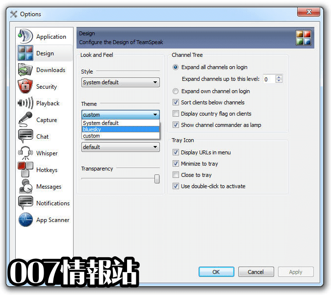 TeamSpeak Client (64-bit) Screenshot 5