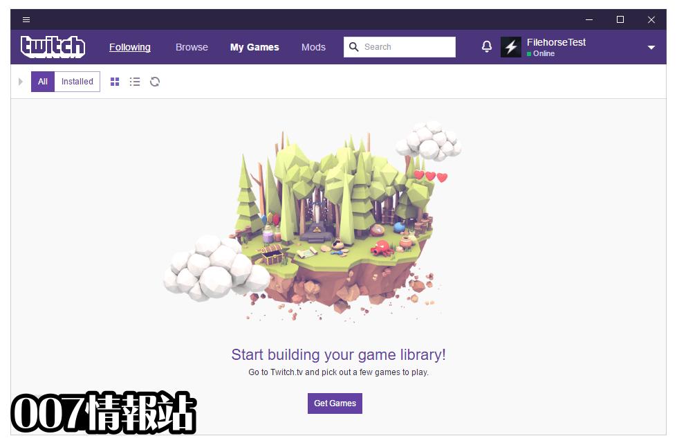 Twitch Desktop App Screenshot 4