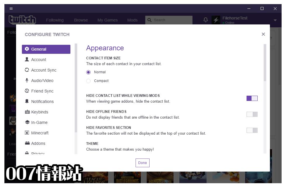 Twitch Desktop App Screenshot 5