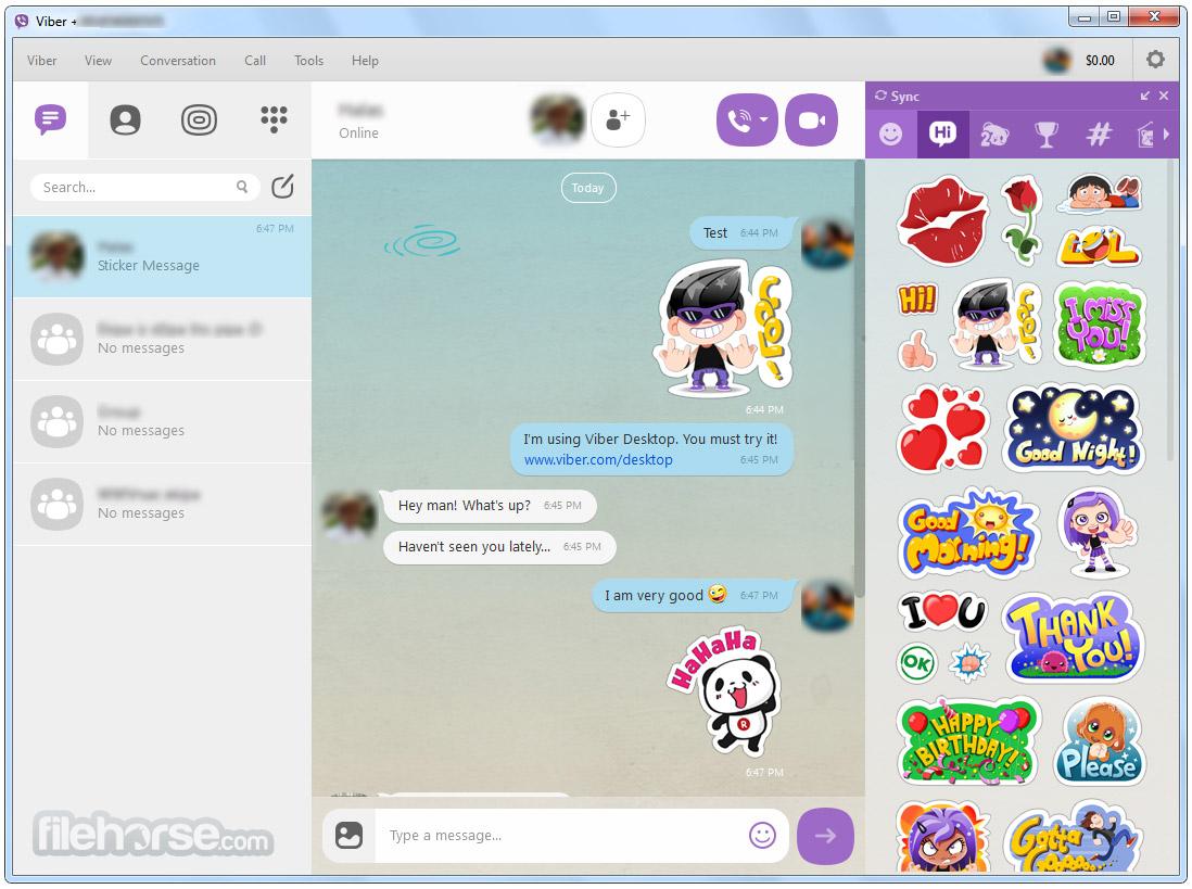 Viber for Windows Screenshot 2
