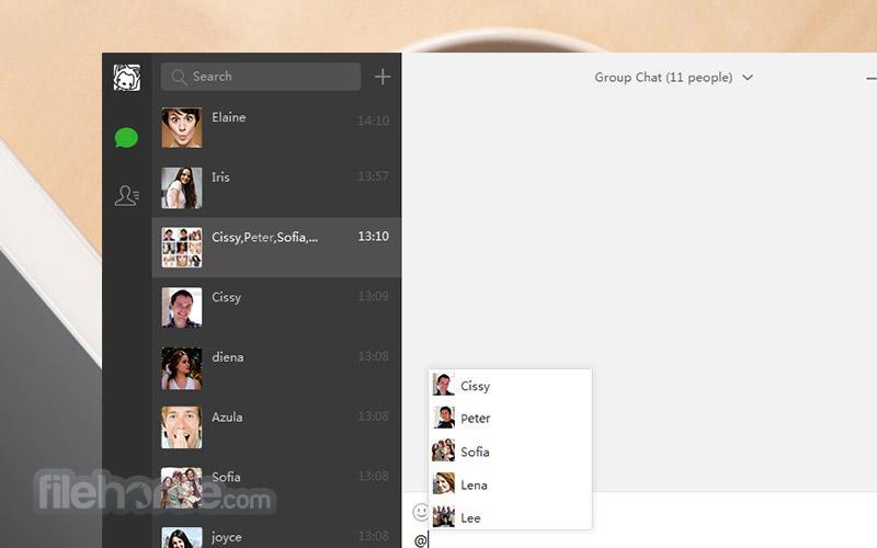 WeChat for Windows Screenshot 3