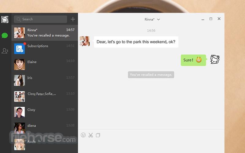 WeChat for Windows Screenshot 4
