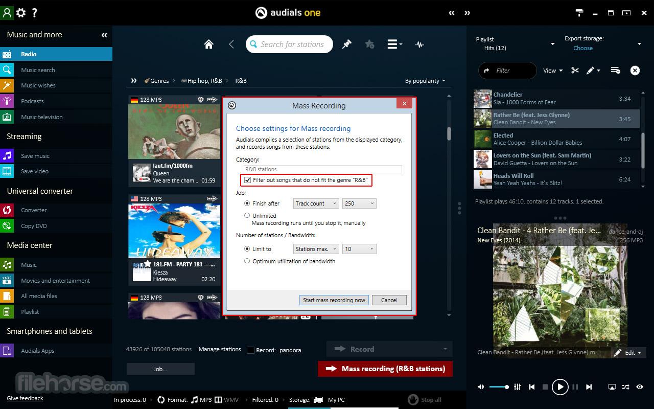 Audials One Screenshot 1