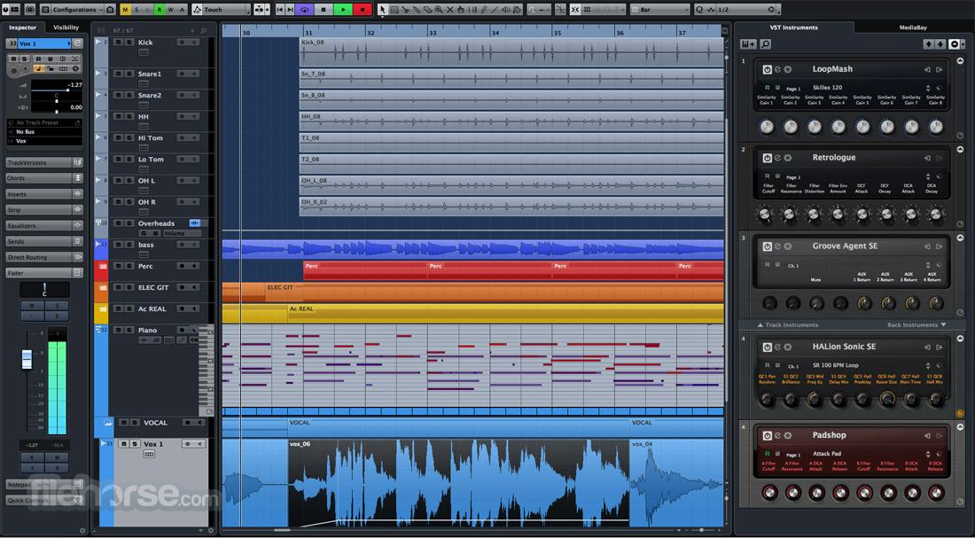 Cubase Pro Screenshot 3