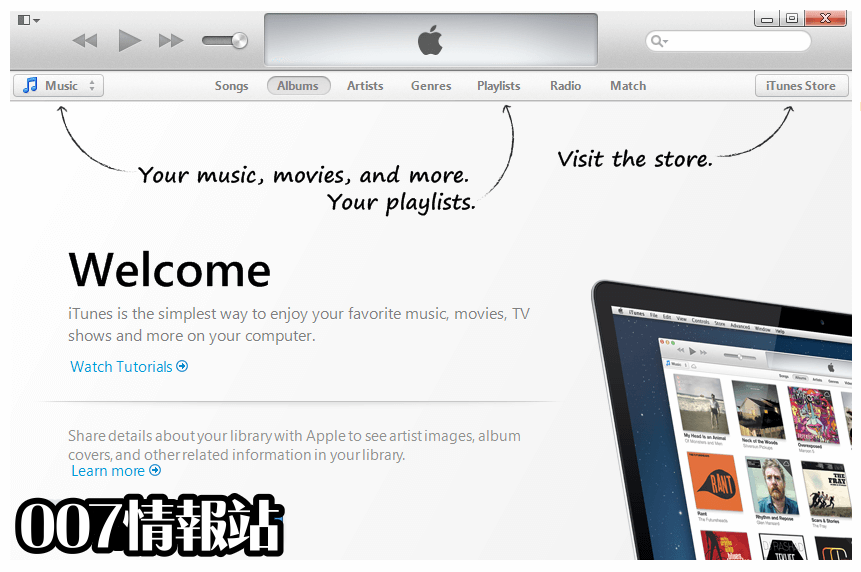 iTunes for Windows (32-bit) Screenshot 1